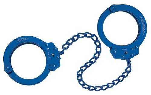 Peerless Handcuff Company, Fußfessel, Modell 753B, blaues finish